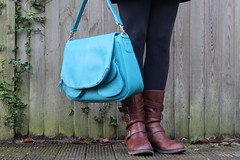 12th December - my new bag? (*superhoop*) Tags: me bag boots teal betsy hpad jototes hpad2013 hpad121213