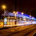 Ghost tram slowing down from lightspeed...