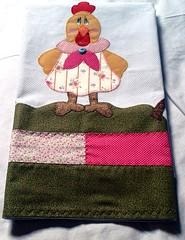PaNo De PrAtO pAtChWoRk♥ (Marcia Sicoti Patchwork ♥♥♥) Tags: de galinha pano patchwork prato flickrandroidapp:filter=none