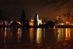 DSC_0887 (JC/AB) Tags: christmas city eve uk bridge winter england west colour abbey night river evening bath december day flood south centre united country north vivid kingdom somerset east 24 24th avon floods banks riverbanks pulteney bnes banes 2013