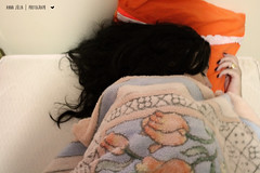 {Photo a day} January, 6 - Happens everyday (Anna Jlia   Photography) Tags: black love girl hair lights soft sweet sleep joy nails enjoy asleep hapiness