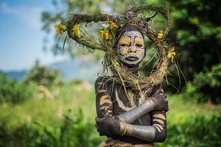 Suri Tribe Kid