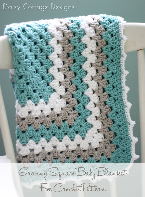 Ravelry Granny Square Baby Blanket Pattern By Lauren Brown