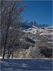 Les Aiguilles un lendemain de neige