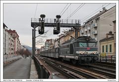 SNCF 67363 - Grenoble - TER883742 (14-02-2014) (Vincent-Prins) Tags: grenoble rrr sncf ter bb67300 67363 883742