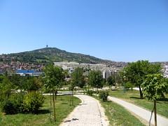 Uitzicht over Belgrado