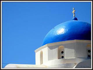 Θεέ μου, πόσο μπλε ξοδεύεις για να μη σε βλέπουμε… Οδυσσέας Ελύτης.
