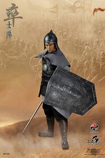 303TOYS新作:三國系列(卒)甲士盾套裝人偶