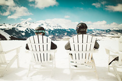 All We're Missing Is Mexican Beer (DEARTH !) Tags: mountain mountains outside pepper outdoors colorado skiing lifestyle telluride helmets loungechairs skiers dearth wilsonpeak willmcgough wakewander