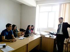 "Predavanja studentima master studija na Nacionalnom univerzitetu u Kazahstanu <a style=""margin-left:10px; font-size:0.8em;"" href=""https://www.flickr.com/photos/89847229@N08/13758674975/"" target=""_blank"">@flickr</a>"