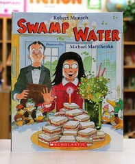 Swamp Water (Vernon Barford School Library) Tags: birthday new school grandma fiction girls food robert water girl reading restaurant book michael duck high humorous grandmother eating library libraries humor beverage reads picture restaurants ducks books super sandwich humour read paperback cover grandparents swamp junior jelly novel dinning covers bookcover birthdays pick middle jam vernon quick peanutbutter sandwiches recent picks bookcovers grandmothers grandparent paperbacks picturebook grandmas novels fictional picturebooks humourous barford canadianauthor munsch softcover martchenko vernonbarford softcovers canadianillustrator beveraged superquickpicks superquickpick 9781443128377