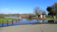 Flooded Boat Ramp