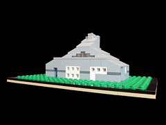 LEGO Vanna Venturi House - Rear 1 (keoarchitect) Tags: building design architect postmodern complexityandcontradiction postmodernism pennsylvania house mothershouse vsba chestnuthill philadelphia legoarchitecture venturiscottbrownandassociates robertventuri lego legoideas legomoc venturi architecture