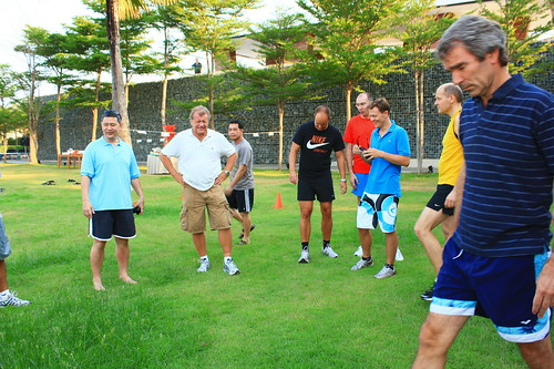 Outdoor team building at Hotel SO Sofitel Hua Hin