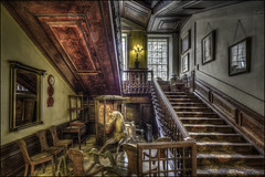 The Stairway (Darwinsgift) Tags: stairway architecture interior hdr calke abbey derbyshire national trust pc nikkor 19mm f4 e ed tilt shift nikon d810 tripod multiple exposure greaterphotographers