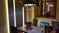 Interior of Italian Restaurant Delizia (tarmo888) Tags: samsunggalaxy s6edge android smartphone geotaggedphoto geosetter sooc photoimage фотоfoto year2016 ukraine україна ukrayina украи́на украина lviv lwów lvov lemberg львів львов leopolis lwow indoor interior delizia