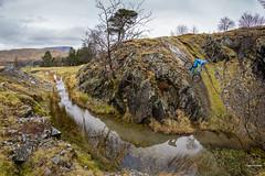 Slippery Slab (tristantinn) Tags: 2017 action britain cumbria cycling england evil garburn kentmere lakedistrict mountainbike mtb pushcartel sports spring tristantinn troutbeck uk