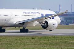 LOT - Polish Airlines / Boeing 787-8 Dreamliner / SP-LRE (SzpenioWPR) Tags: 787 lot warsaw warszawa dreamliner aviation aviationgeek spotting spotter