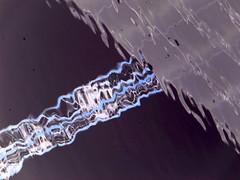Lasercannon Beam (Ed Sax) Tags: laser cannon kanone beam strahl sf art kunst photokunst photoart edsax kunstphotographie abstrakt abstraction blue blau violet