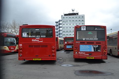 Halton Transport 38 DK03NTE & 7 AJ58PZL (Will Swain) Tags: widnes 12th march 2017 halton borough transport bus buses travel uk britain vehicle vehicles county country england english north west town 19isformerpremieretravel nottingham3385