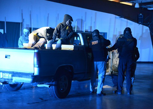 Coast Guard participates in Clatsop County Sheriff's Department training
