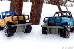 170405-13 Toy Jeep (clamato39) Tags: macro jeep toys jouets auto neige snow hiver winter