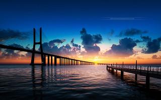 Vasco de Gama Bridge // Lisbon // Portugal