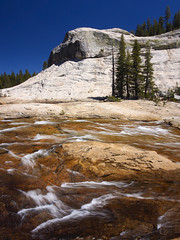 Yosemite High Country Color (RobertCross1 (off and on)) Tags: 1250mmf3563mzuiko ca california em5 highsierra longexposure omd olympus pct pacificcresttrail sierranevada sierras tuolumne tuolumneriver yosemite yosemitenationalpark bluesky creek forest hiking landscape mountains nature portrait rapids river stream trees water