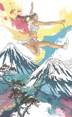 Be superior #high (milazayakina) Tags: illustration advertising ad watercolor sport nike high superiority
