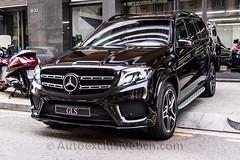 Mercedes GLS 350 d AMG - Negro Obsidiana - Piel Nappa Negra - Auto Exclusive BCN