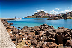 castelsardo (heavenuphere) Tags: castelsardo sassari sardegna sardinia sardinie italia italy europe island landscape harbour marina rocks water 24105mm