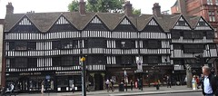 [48621] City of London : Staple Inn (Budby) Tags: london shops timbered squaremile cityoflondon elizabethan blackwhite