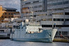 SNMCMG1 April 15th 2017 (2 of 11) (johnlinford) Tags: a433 auxiliary canarywharf docklands emlwambola hnlmsschiedam hnomshinnøy london londondocklands m343 m860 military minesweeper nato navy snmcmg1 ship southquay standingnatominecountermeasuregroup1 vessle