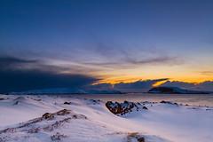 Early morning. (Kjell75) Tags: vardø varanger winter cold snow sunrise sea sky cloud water ignordnorge igfinnmark nature bbc nrk ngc natgeo visitvardø visitfinnmark visitnorway northernnorway outdoor