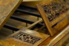 Prelude (MPnormaleye) Tags: piano woodwork instrument musical mim museum beautiful scrolled lensbaby soft bokeh haze seeinanewway utata