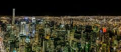Enjoying NY night from the Empire State Building, NY (USA) (Juan María Coy) Tags: empirestatebuilding canonefs1585mm canon7dmarkii nuevayork newyork night noche street calle urban ciudad city longexposure silueta arquitectura aire libre edificio usa