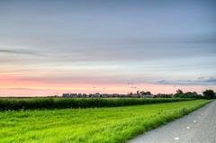 Sky of Silk. (Alex-de-Haas) Tags: dutch dutchskies hdr holland hollandseluchten marken nederland nederlands netherlands noordholland beautiful daglicht daylight highdynamicrange landscape landschap licht light lucht meadow meadows mooi polder schiereiland sky summer sunset sunsetlight thesunisdrawing weiden weiland weilanden zomer zonsondergang
