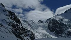 Bernina, Morteratsch glacier (czpictures) Tags: bernina piz palü mountains ski touring switzerland glacier mountaineering alpinism diavolezza morteratsch