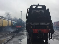 The ELR Uusals (Ainscough Productions) Tags: train steamengine baronstreet bury eastlancashirerailway elr crab lms 13065 bulliedpacific southernrailway cityofwells 34092