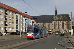 Halberstadt Leoliner 3 Haltestelle Hoher Weg, 31.03.2017 by Tramfan2011 -