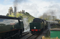 DSC01727 (Alexander Morley) Tags: swanage railway strictly bulleid steam gala 2017 pacific southern 34092 city wells corfe castle 34070 manston