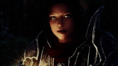Caught something in my eye ([TxTP] Atlas) Tags: skyrim video videogame graphics landscape face