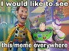 I would like to see this famous meme made with real toys everywhere. Just download the Picture with full resolution on my Flickr profile and made your own meme! Link: https://flic.kr/p/U2PUSD  #Woody #Cowboy #sheriff #Buzz #buzzlightyear #Space #astronaut (dioxdiegodmf) Tags: collection coleção toy pixar anination andy woody disney revoltech sheriff buzzlightyear meme buzz disneyanimation cowboy toystory space astronaut actionfigure