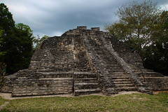 Chochoben Mayan Ruins (Turnstiles gone by) Tags: mayan ruins mexico chochoben cruise norwegian pyramid temple