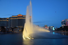 Evening Bellagio Fountain Show