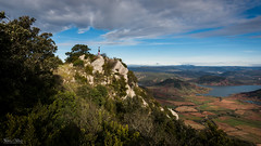 Long view (Frédéric Pactat) Tags: nikon d750 afs ed fx d 750 20 mm f 18 f18 nikkor 20mm f18g morning run mont liausson salagou clermont lhérault crête ridge mountains trail running far view infinite nature montagne lac clouds nuages sonyflickraward lake hérault paysage landscape