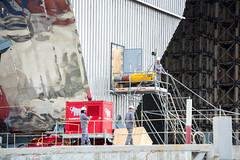 New safe confinement (Big7000) Tags: chernobyl reactor 4 building site new safe confinement sarcophagus