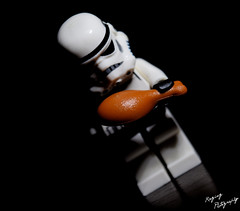 Stormtrooper Portrait (RagingPhotography) Tags: lego star wars stormtrooper portrait humor eerie dramatic tension minifigure minifig figure plastic toy ragingphotography