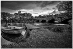 Boats for hire (Hugh Stanton) Tags: jetty boats bridge bank shore appicoftheweek