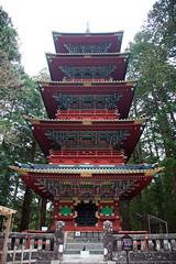 Gojunoto (Five-Story Pagoda) (Emsquee) Tags: japan toshogutemple nikkonationalpark shinto worldheritage